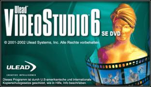 Ulead Videostudio 6 SE DVD
