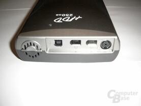 Iomega HDD 250GB - Rückansicht