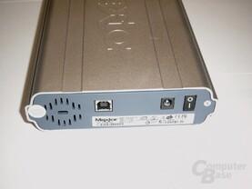 Maxtor OneTouch 120GB - Rückansicht