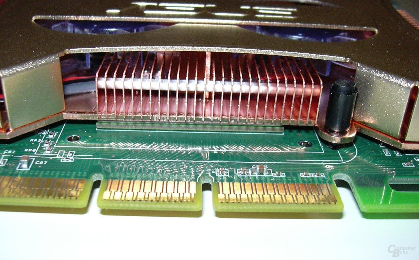 Asus Kühler&Chip Detail