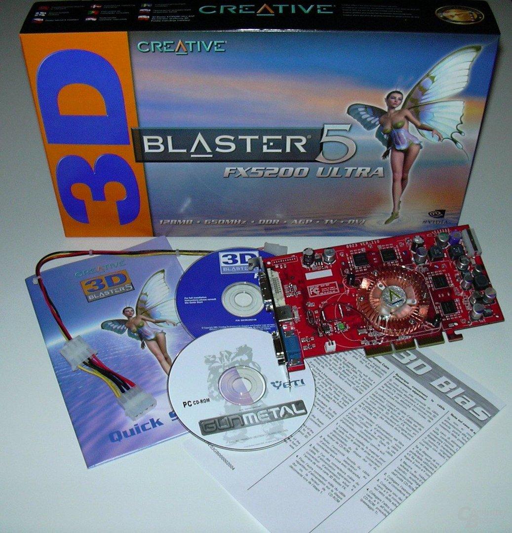 CL FX5200u Box Lieferumfang