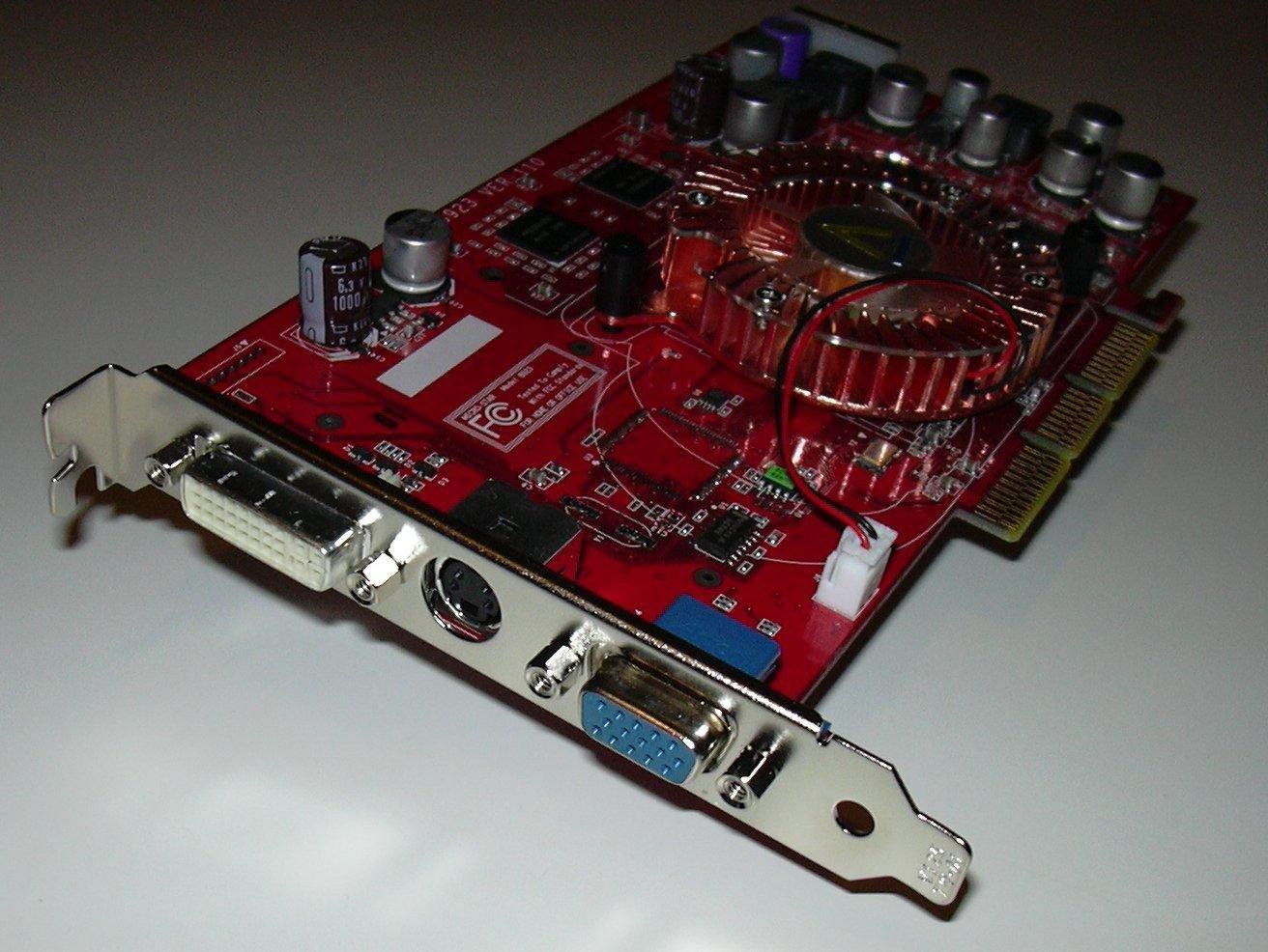 CL FX5200u Karte Front Anschlüsse