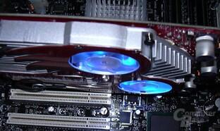Gainward Kühler Lüfter-LED