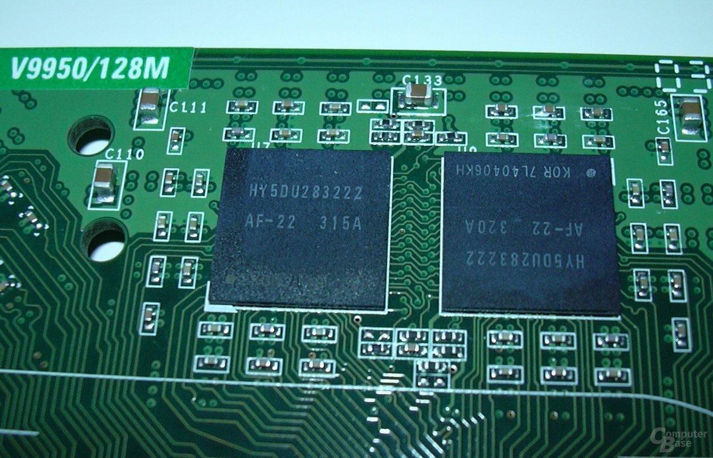 Asus Karte RAM-Detail III