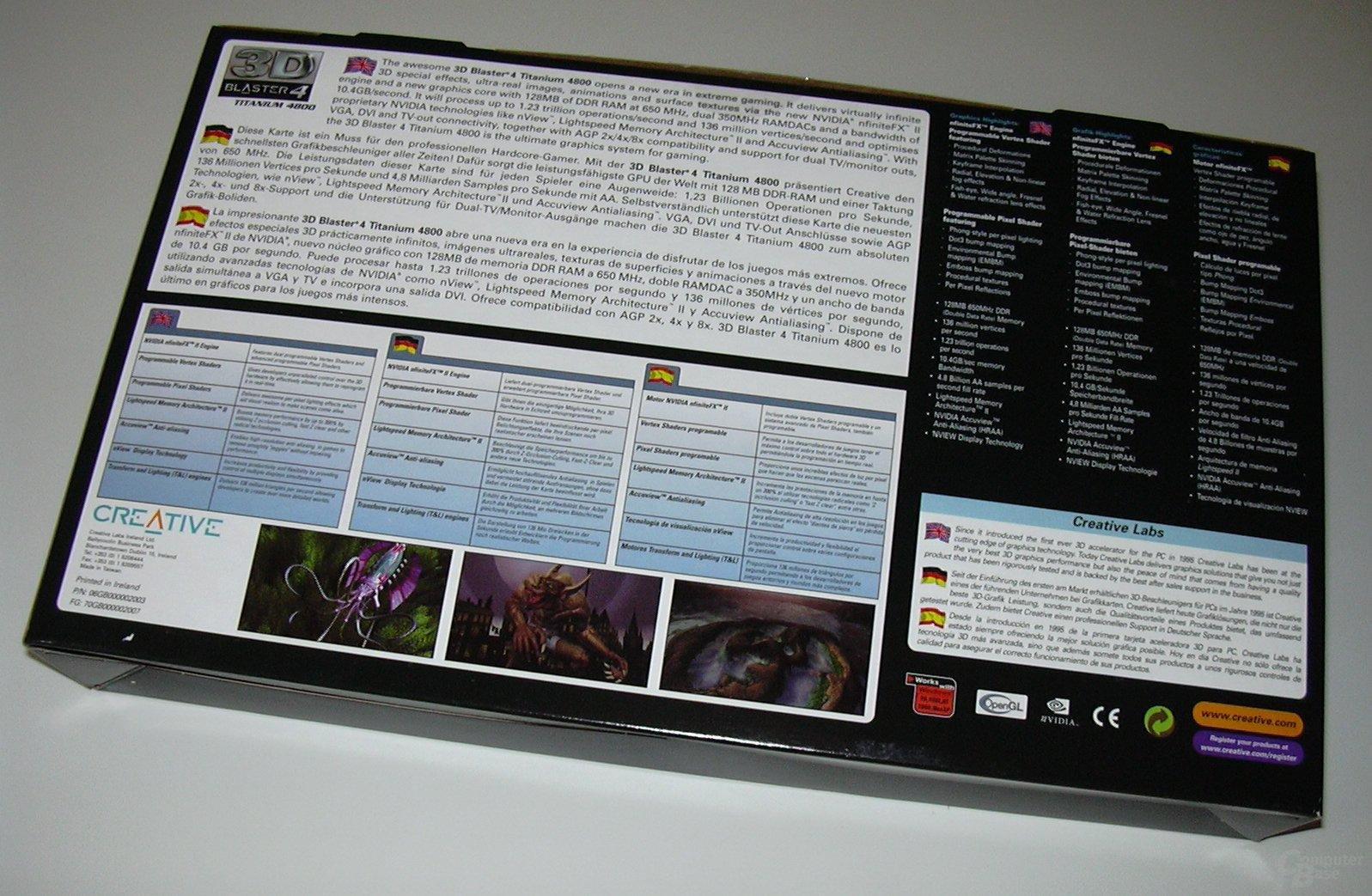 Ti4800 Packung Rück