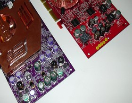 Ti4800 Stromversorgung Vergleich vs. Asus