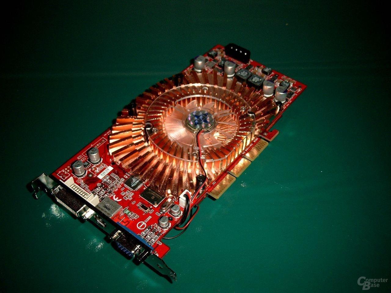 MSI FX5900SP Draufsicht