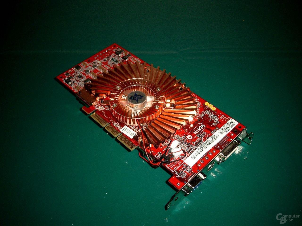 MSI FX5900SP von unten