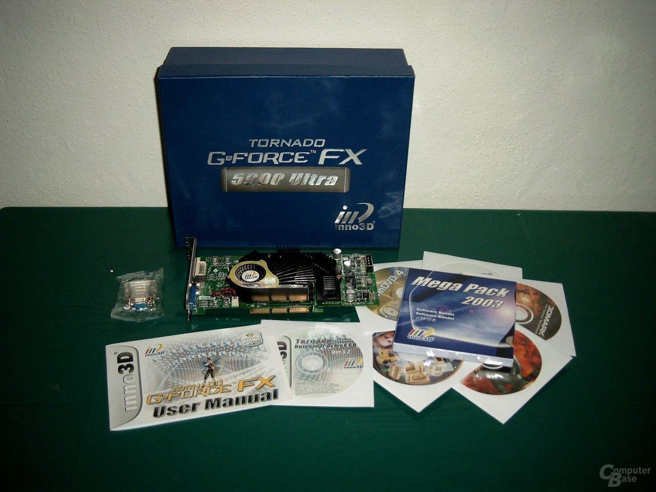 Inno3D FX5900 Ultra Verpackungsinhalt