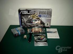 ASUS V9950 Ultra Verpackungsinhalt
