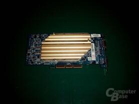ASUS V9950 Ultra von unten