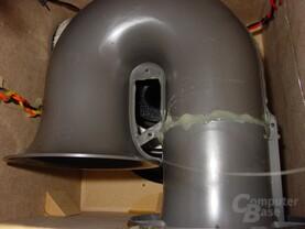 180° Bassreflex-Rohr Logitech Z2200
