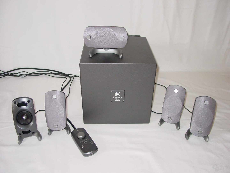 System komplett Logitech Z5300