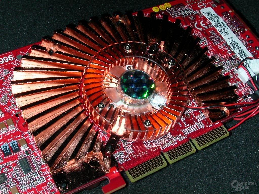 MSI GeForce FX 5950 Ultra - Rückseite