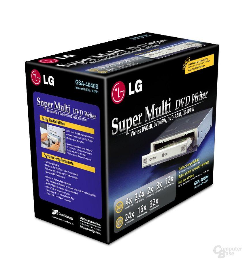 LG GSA-4040B Verpackung