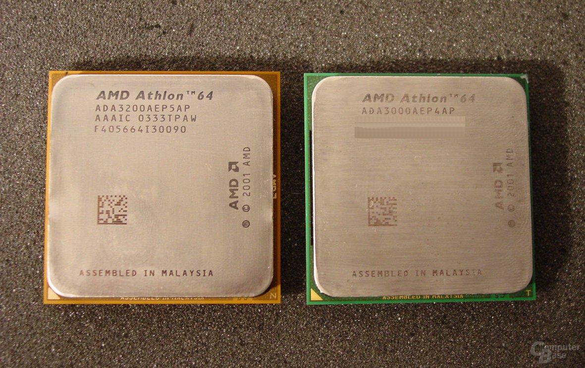 Athlon 64 3200+ und 3000+