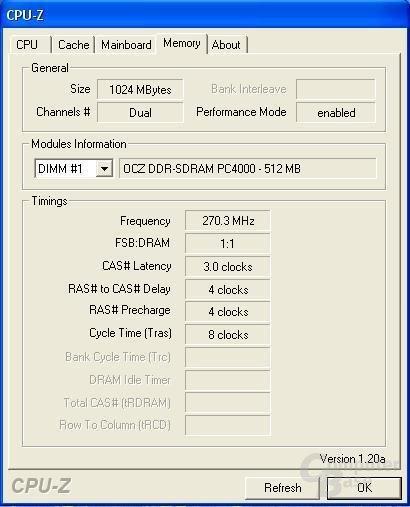 270 MHz - nicht schlecht!