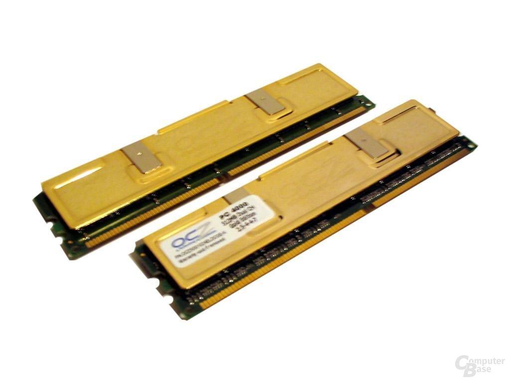 Goldener Heatspreader