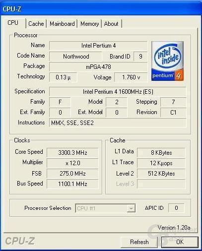 275 MHz erreicht
