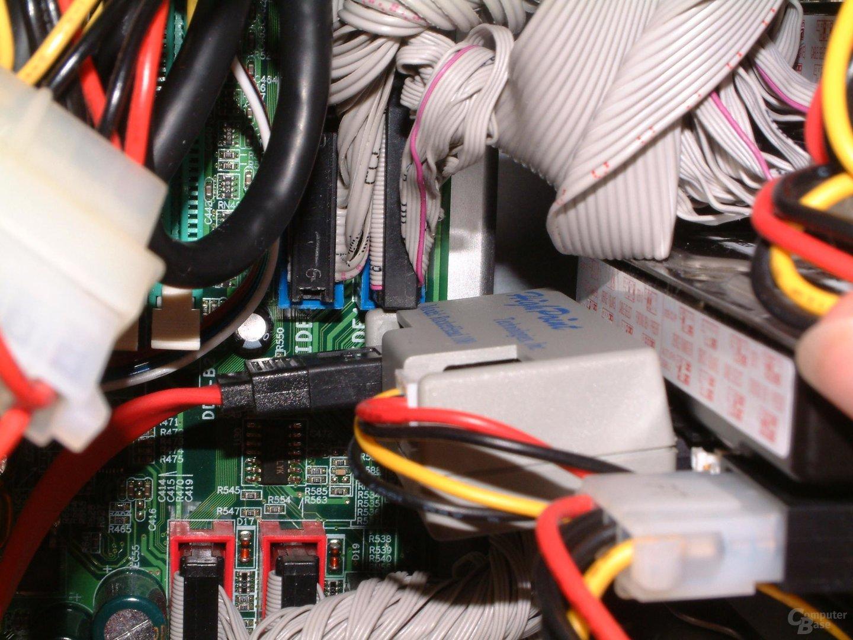 S-ATA Adapter passt nicht