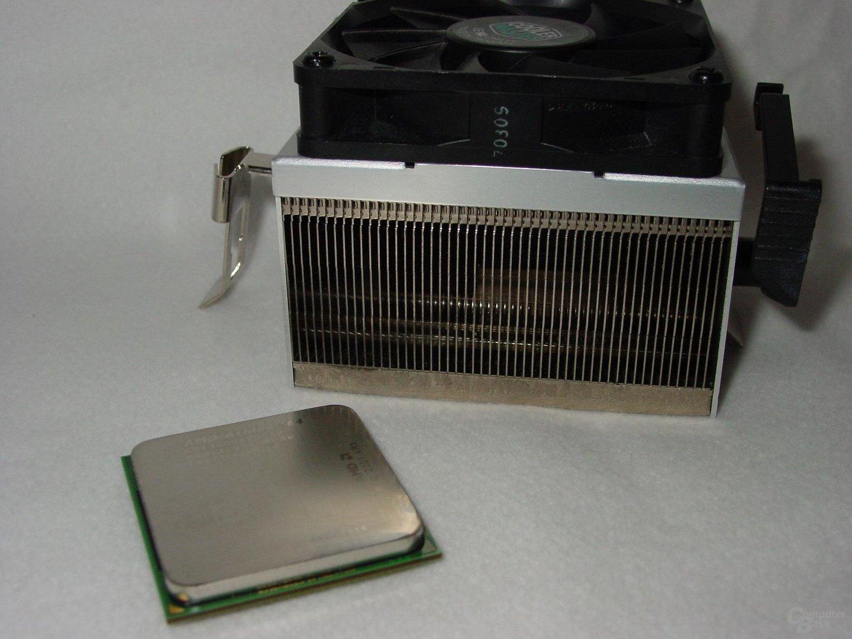 Athlon 64 3400+ mit Kühler