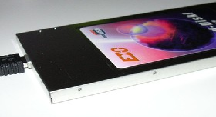 Card-Disk Kabel angeschlossen