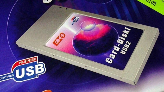InnoVISION EIO Card-Disk im Test: USB-Stick und externe Festplatte vereint