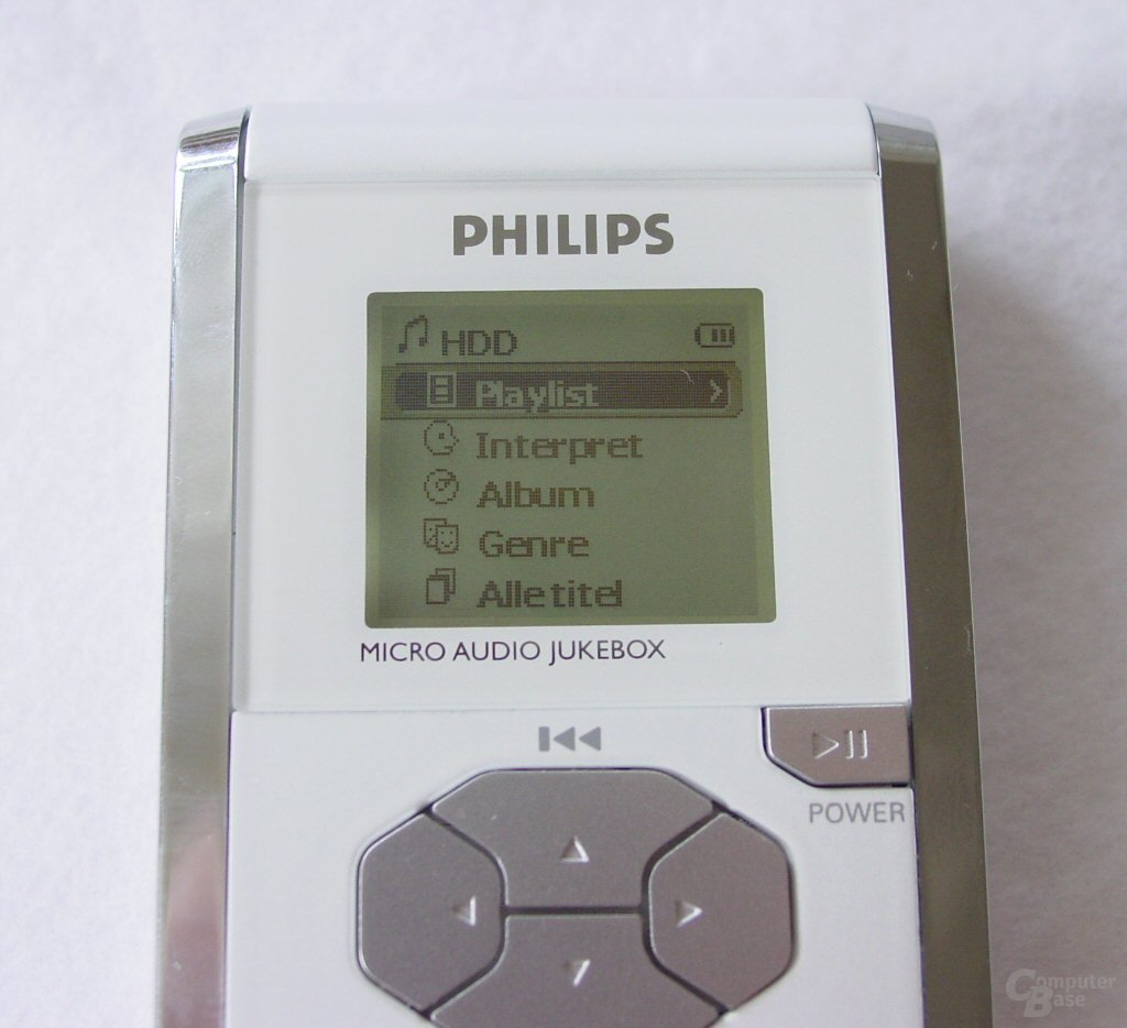 Die Philips Micro Audio Jukebox