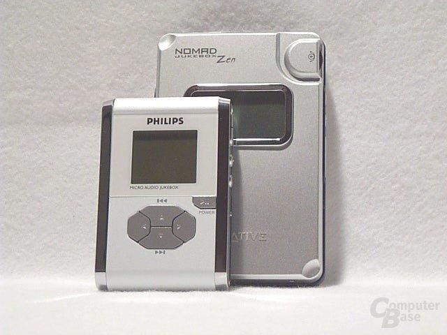 Größenvergleich Philips - Zen