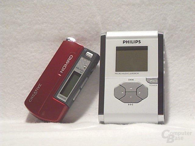 Größenvergleich MuVo - Philips