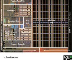 AMD Athlon 64 Die