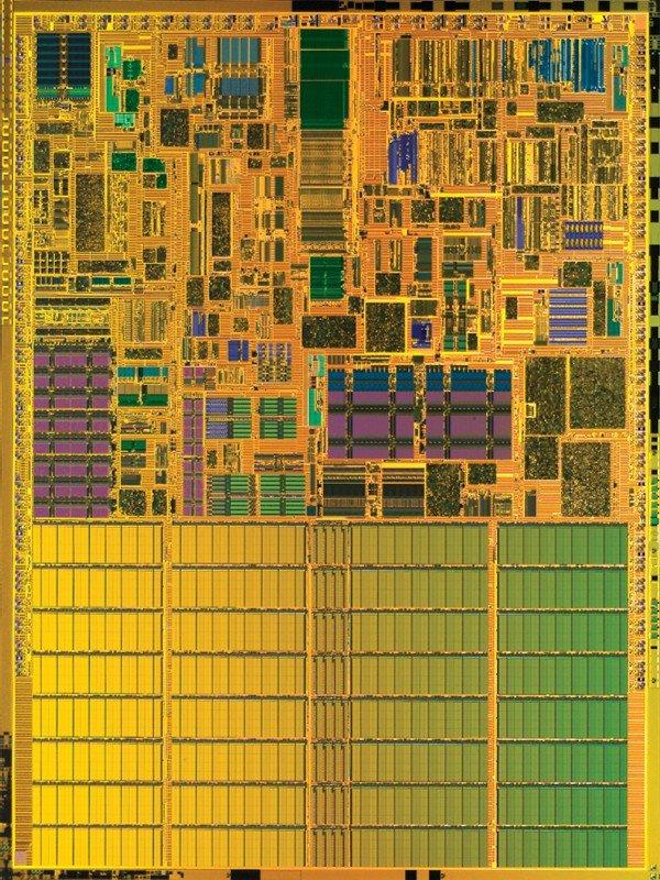 Intel Pentium M Die