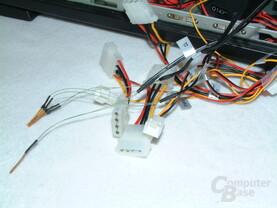 Kabel und Sensoren Lüftersteuerung
