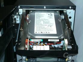 HDD hinter Lüftersteuerung