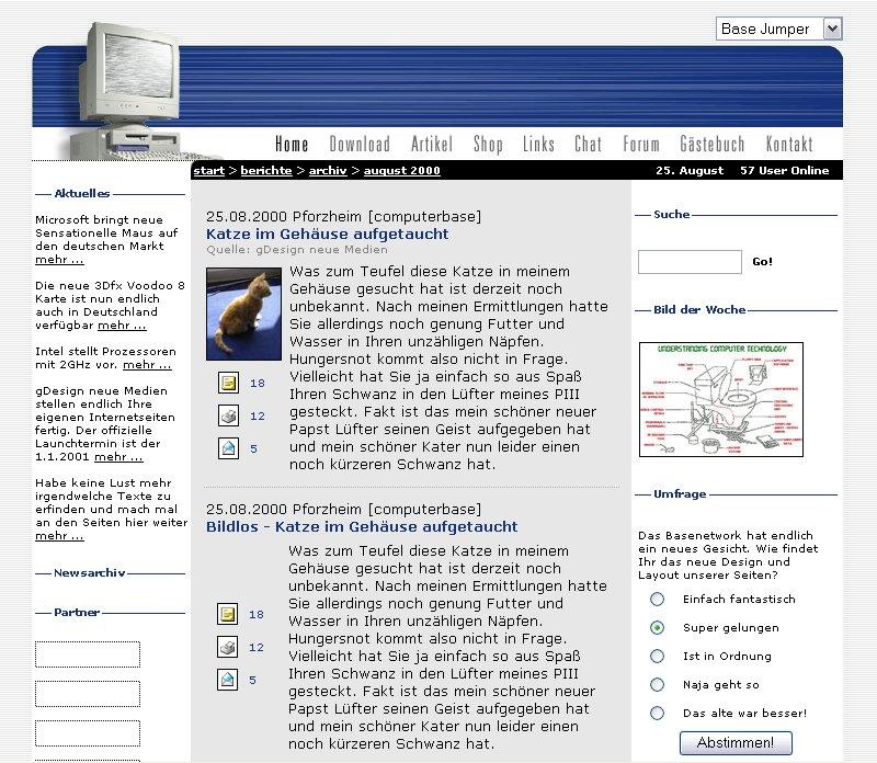 ComputerBase 2.0 Entwurf 1