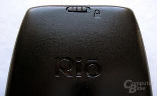 RIO MP3-Player - Hold-Taste