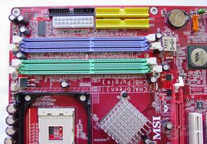 MSI PT880 Neo-LSR - RAM und PATA