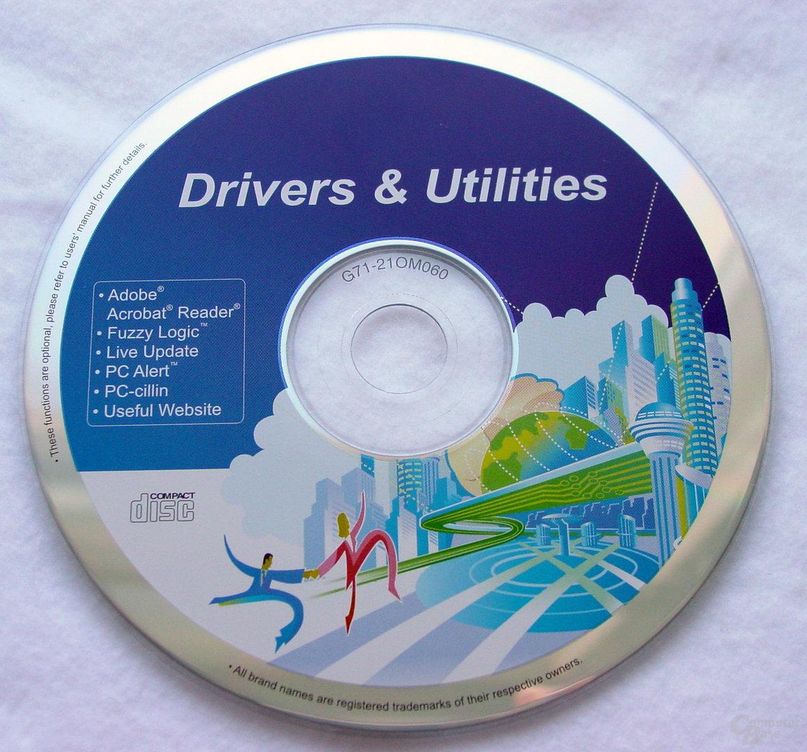 MSI PT880 Neo-LSR - Treiber CD