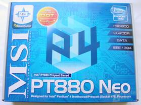MSI PT880 Neo-LSR - Verpackung