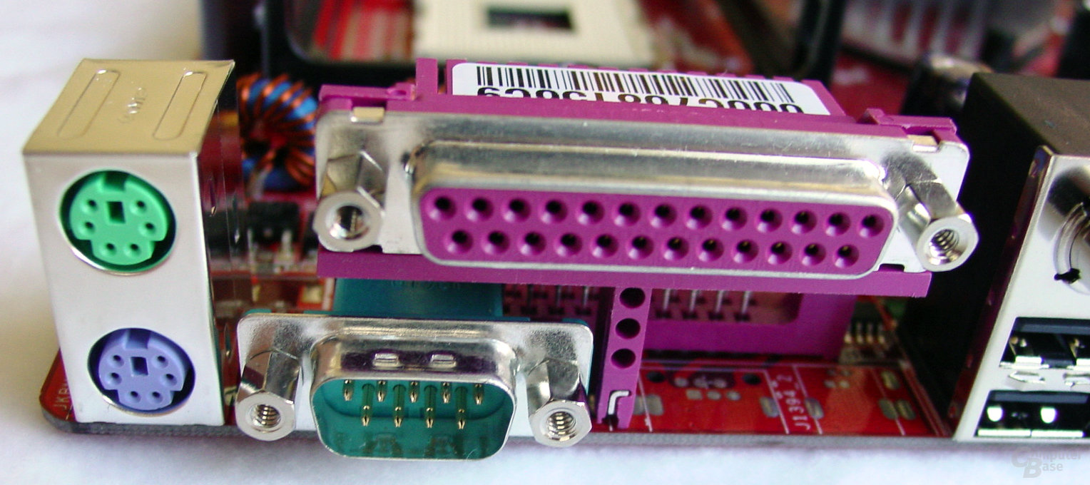 MSI PT880 Neo-LSR - Anschlüsse - 2