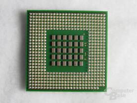 """Pentium 4 3,4 GHz """"Northwood"""" Rückseite"""