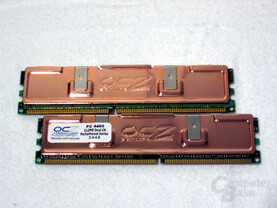 OCZ DDR550 im Dual Channel Kit
