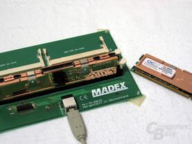 Überprüfung des SPDs mittel Madex Memory Finder