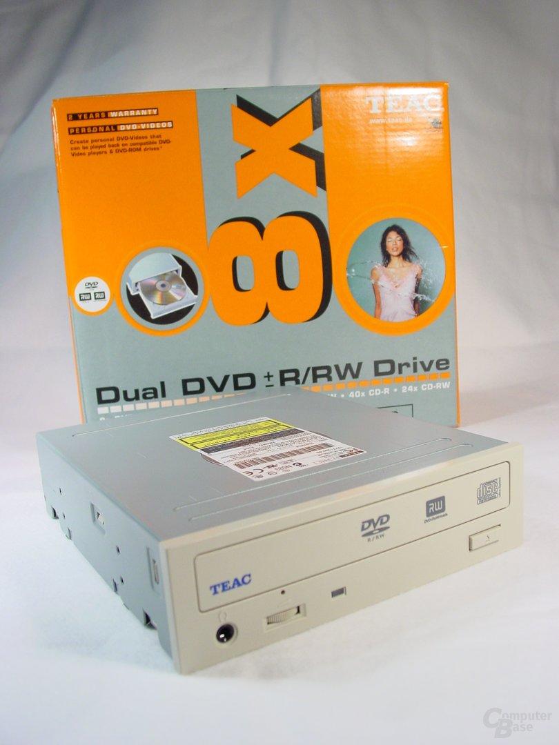 TEAC DVW58G Laufwerk+Verpackung