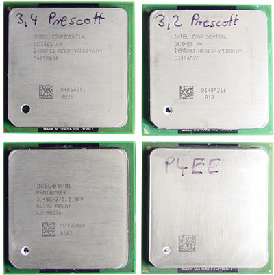 Intels aktuelle Highend-Prozessoren im Desktop-Segment