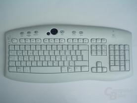 Logitech Tastatur ohne Handauflage