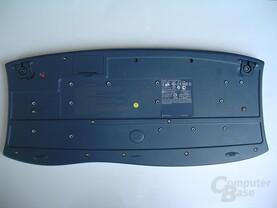 Logitech Tastatur von unten