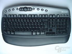 Microsoft Tastatur von oben