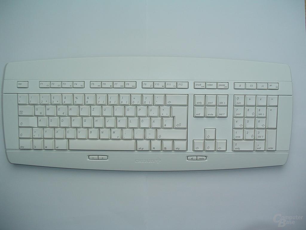 Tastatur ohne Handauflage