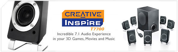 Creative Inspire T7700